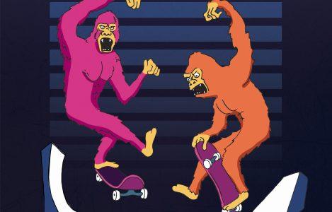 Affiche réalisé pour le contest de skate organisé par la marque Horror Juice