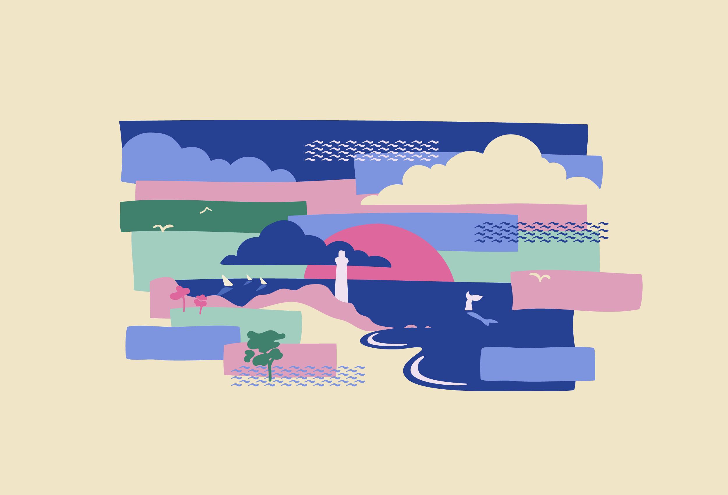 Vignette de l'Illustration de la plage du phare de Baleines