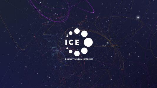 Illustration du site one page Immersive Cinema Experience placé en haut de page