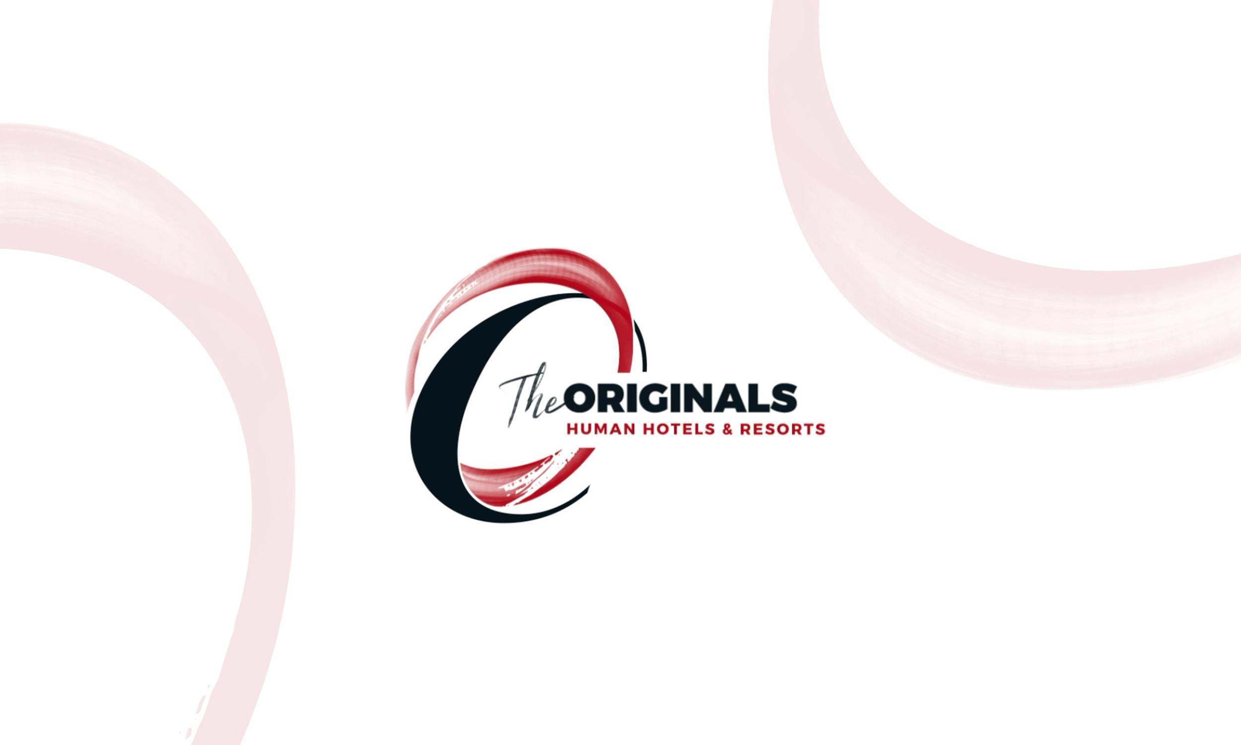 Logo The Originals utilisé pour les vidéos de présentation d'interface utilisateur (UI) et de formation à la fidélisation client.